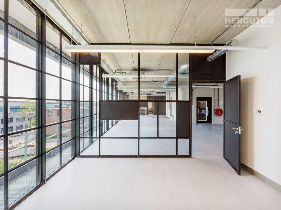 Nieuwbouw loft kantoor Xite Amsterdam - Hercuton