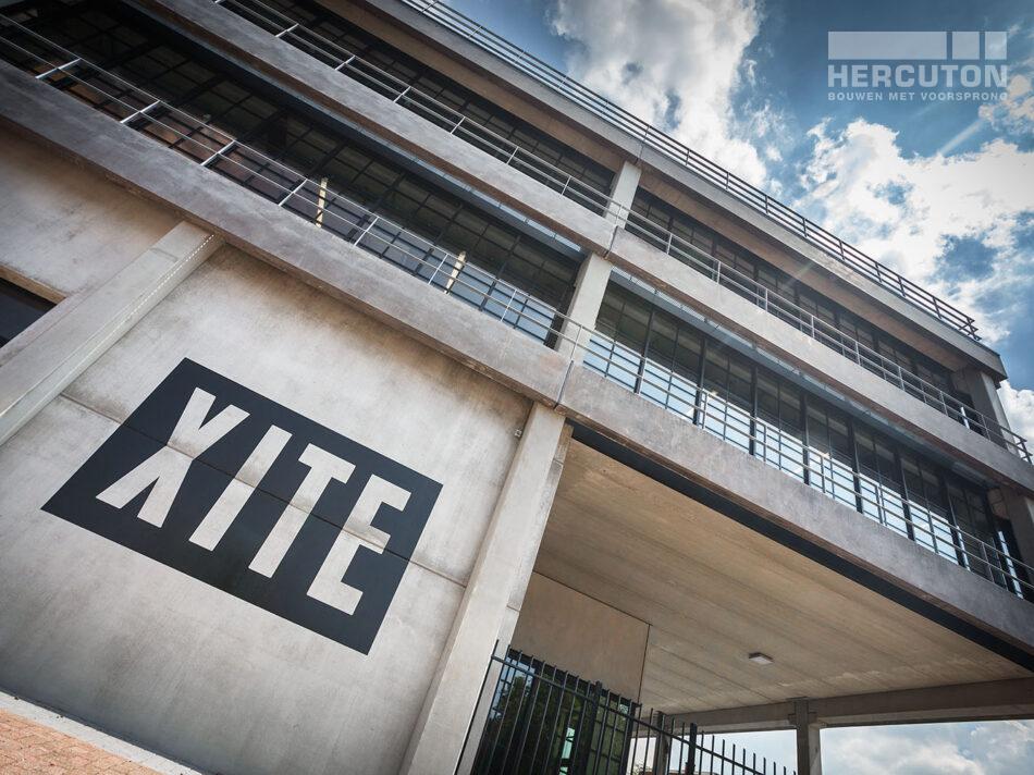 Hoofkantoor Xite gerealiseerd door Hercuton