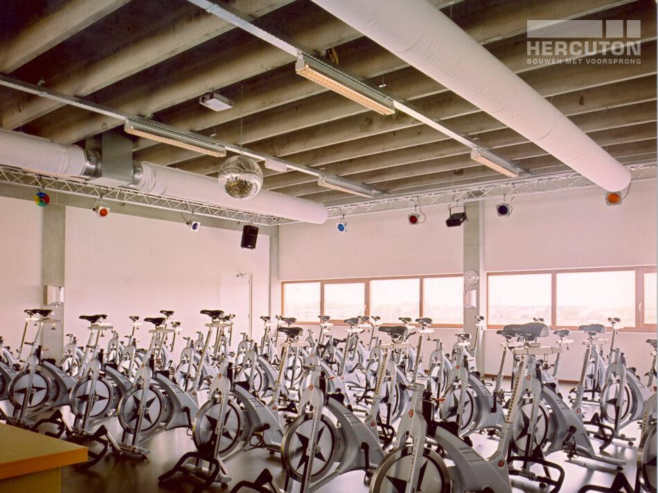 Hercuton realiseerde Sport- en fitnesscentum MyLife in slechts zes maanden. - sportruimte