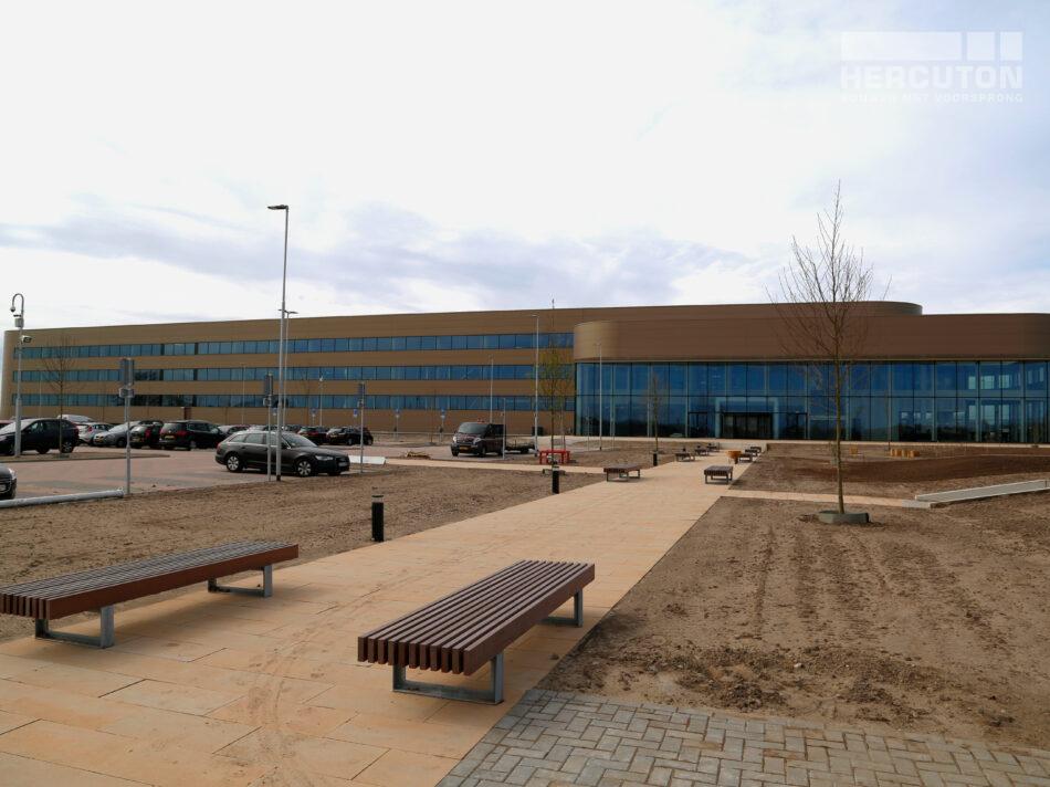 Nieuwbouw distributiecentrum Wehkamp Zwolle - voorgevel