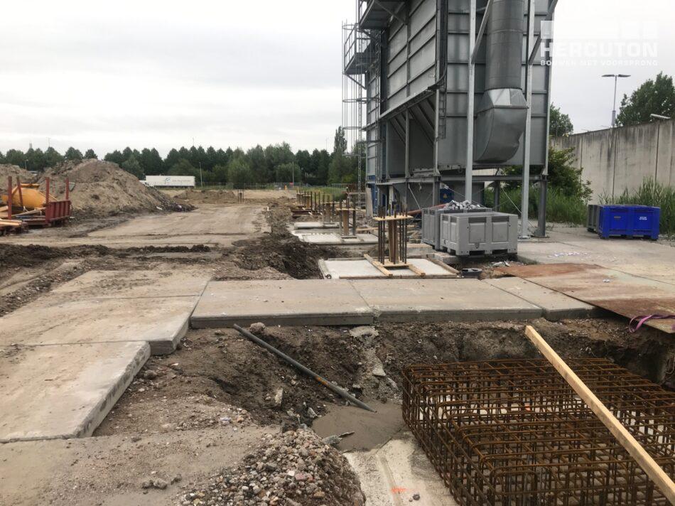 Nieuwbouw van Winkelen Papierrecycling Zoetermeer