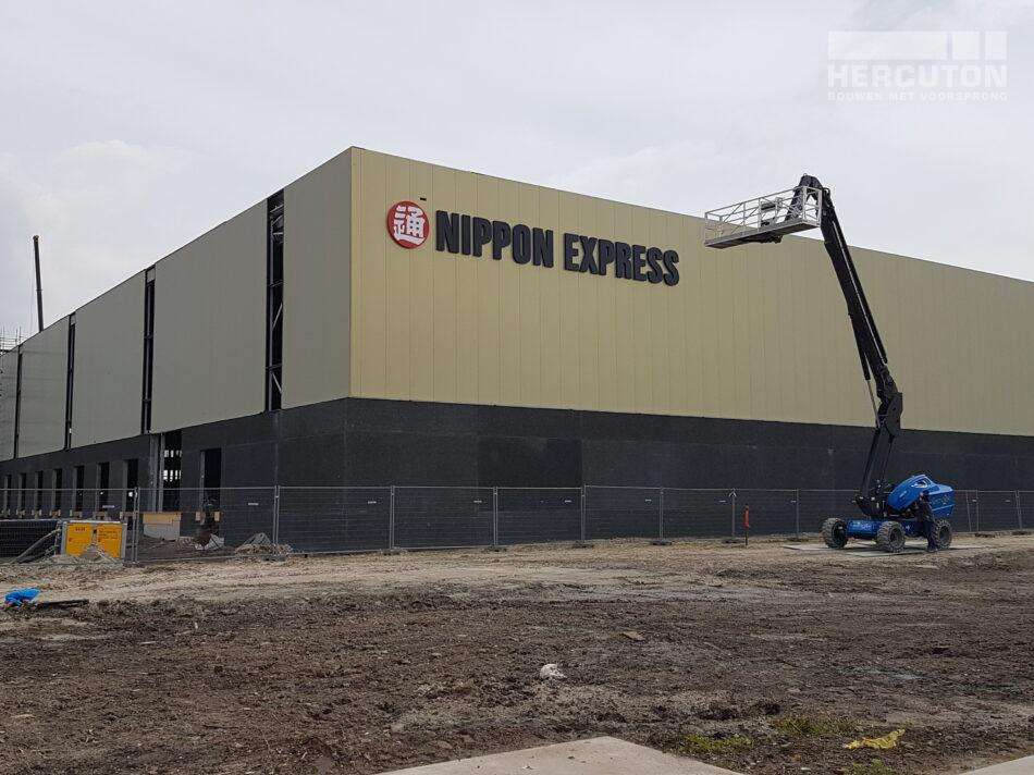 Werkzaamheden Nippon Express Hoofddorp