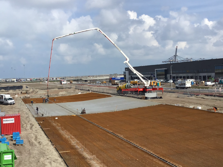 Nieuwbouw turn-key warehouse BPA, Maasvlakte West