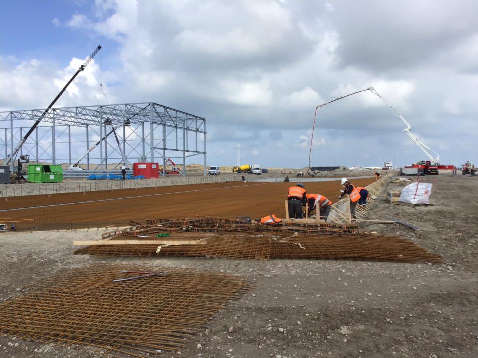 Nieuwbouw turn-key warehouse BPA, Maasvlakte West