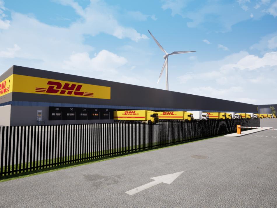 Duurzaam sorteercentrum DHL Parcel Benelux, Dordrecht