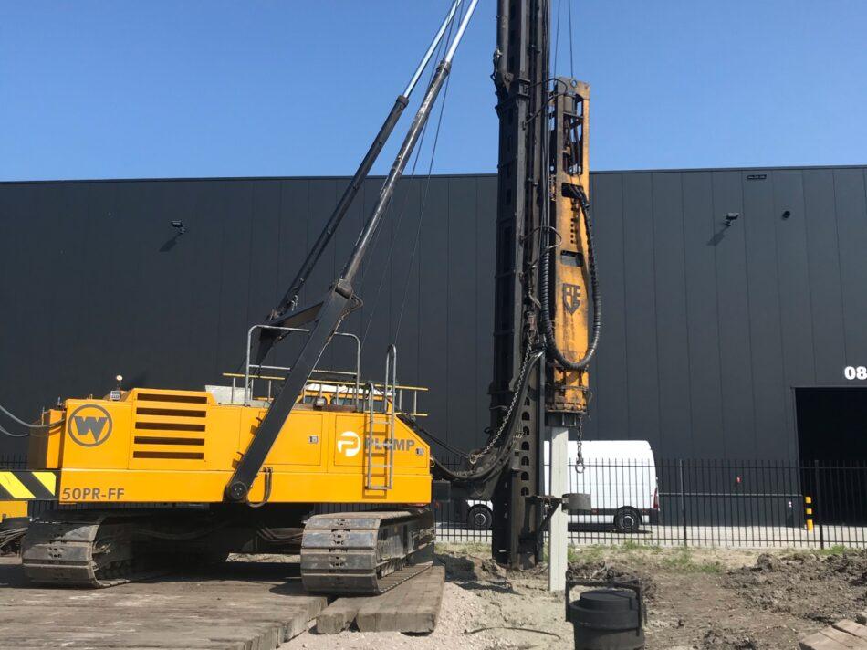 Heiwerk - Nieuwbouw bedrijfspand met kantoor Piguillet & Zonen